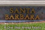 Santa Barbara community sign